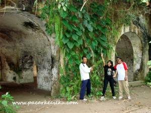 Benteng Karang Bolong di pulau Nusakambangan