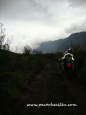 kondisi jalan pulang dari Bukit Teletubbies ke arah Lautan Pasir