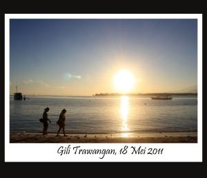 Sunrise di Gili Trawangan