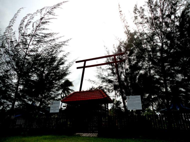 Japanesse Monument