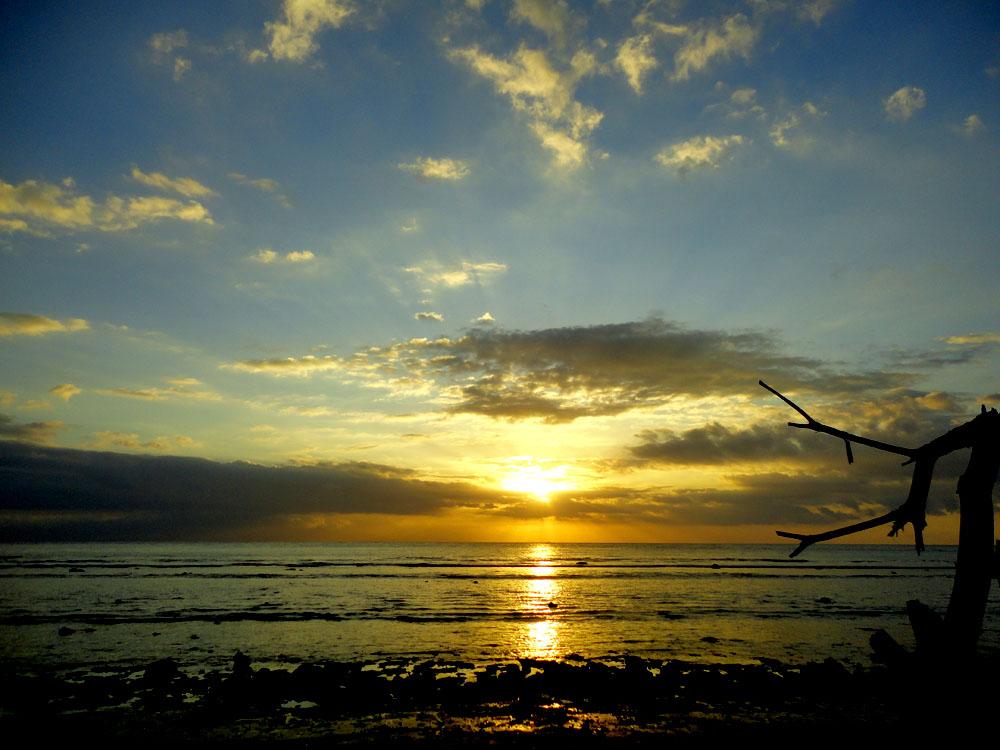 sunset di Pantai Senggigi