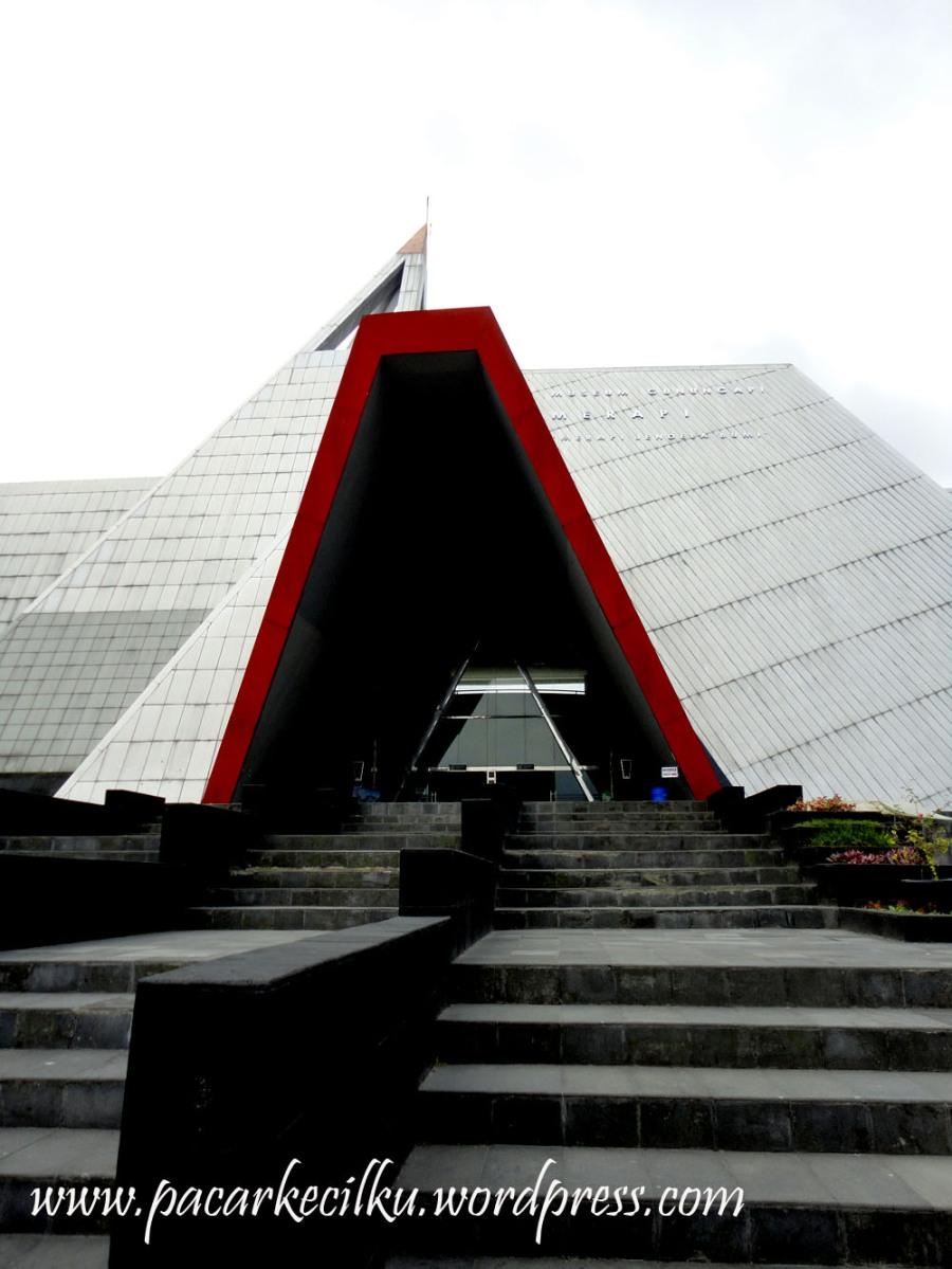 menjenguk Museum Gunung Merapi!