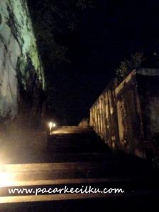 suasana GWK di malam hari