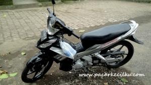 motor yg saya sewa di Bali
