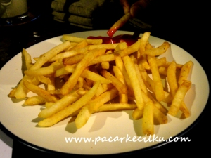 french fries ala Kalimilk