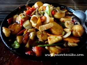 Hot Plate Tofu Seafood