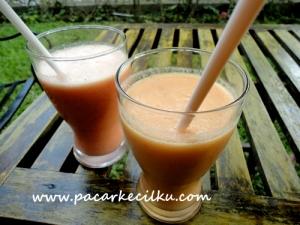 salah satu menu ala garden juice