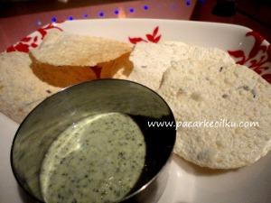 makanan selamat datang ala Sangam Resto