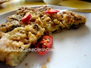 omelet kerang jamur ala Phuket Resto Jogja