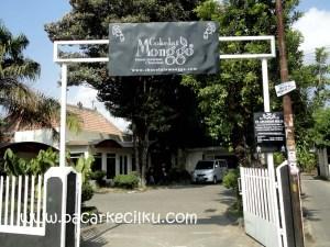 pintu masuk ke Coklat Monggo Kotagede Jogja