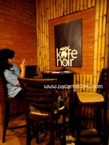 suasana di KofeNoir Coffee Shop