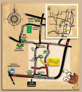 map alamat Coklat Monggo Kotagede Jogja