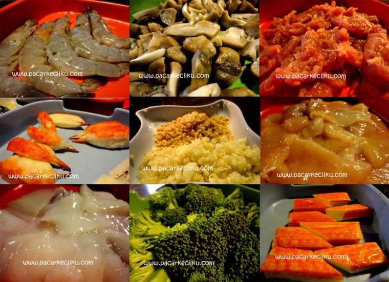 menu suki ala Pattaya Resto