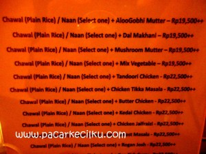menu kuliner India ala Colonial Cuisine Resto