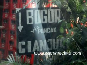 Bogor menuju Cisarua