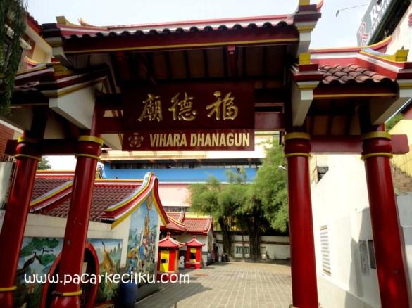 Klenteng Dhanagun Bogor