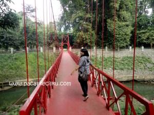 Jembatan Cinta di Kebun Raya Bogor