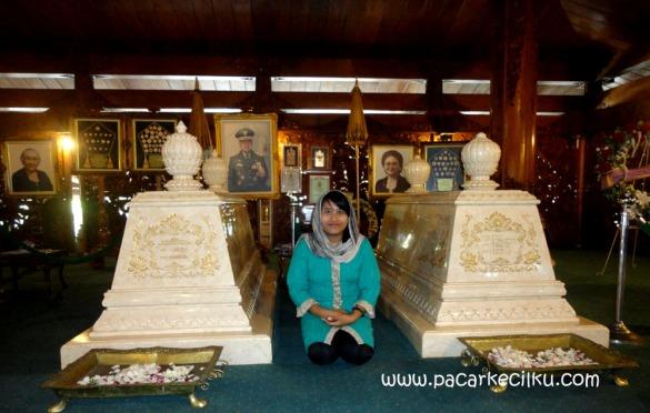 makam Bu Tien dan Pak Harto