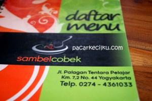 Sambel Cobek Palagan