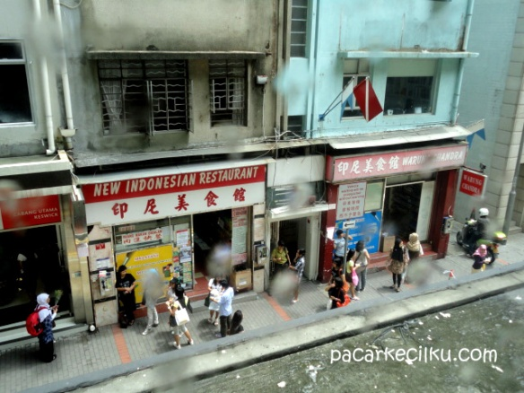 sebuah sudut tentang Indonesia di Hongkong Island