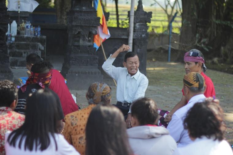 Wejangan Dharma oleh Mpu Kamandriya, Pemangku Umbul Geneng