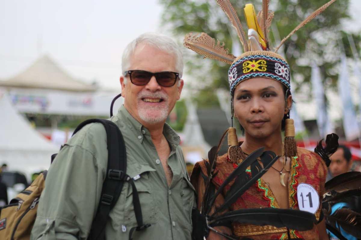 Hipnotis Madihin dan Baju Berkulit Kayu di Festival Wisata Budaya Pasar Terapung 2018